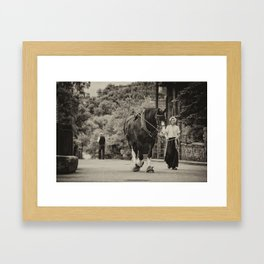 Shire Walk  Framed Art Print