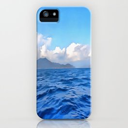 Aegean Blue iPhone Case
