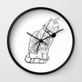 Kitten Jams Wall Clock