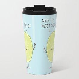 lime cordial Travel Mug