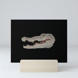 Icons of Africa - Nile Crocodile Mini Art Print
