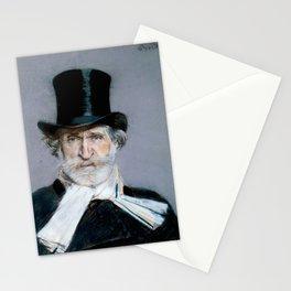 Giuseppe Verdi (1813 – 1901) by Giovanni Boldini (1842 - 1931)(2) Stationery Cards