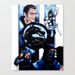 Tale of Two Brothers Canvas Print