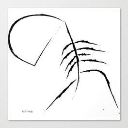 Sad Figure Canvas Print