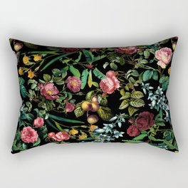 Floral Jungle Rectangular Pillow