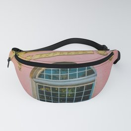 Train Station Tropicale Fanny Pack