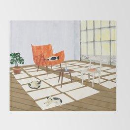 sunday Throw Blanket