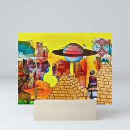 The Search for Zion Mini Art Print