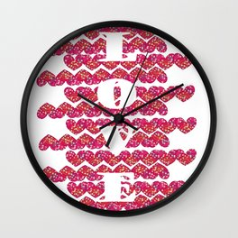 LOVE-HEART Wall Clock