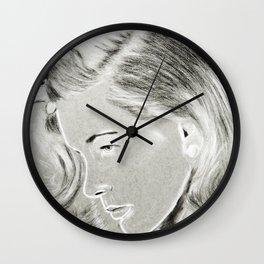 Lauren Bacall Wall Clock