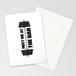 Meet Me At The Bar Stationery Cards