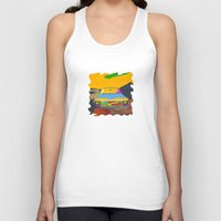 truck Tank Tops featuring OLD TRUCK by magnez2
