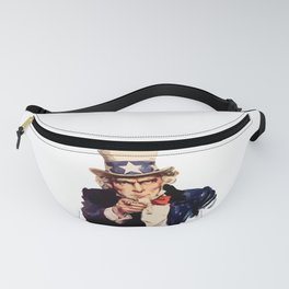 America uncle sam impersonation Fanny Pack