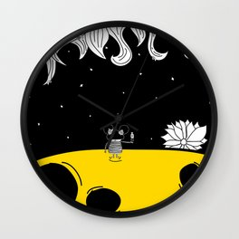 Pija and Moon - Clean After Wall Clock