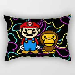 Super Mario Bape Rectangular Pillow