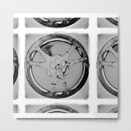 Untitled Film Reel, Version 1 Metal Print