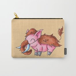 Piggy Mammoth Carry-All Pouch