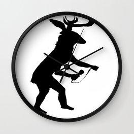 Sacred Mic Check Wall Clock