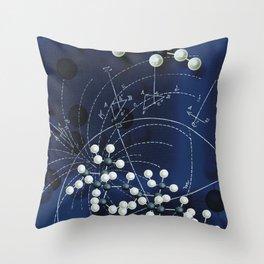 Retro Mathatomically Speaking Throw Pillow