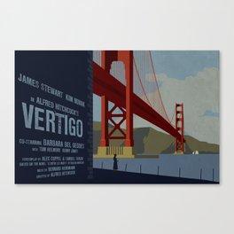 Vertigo alternate movie poster Canvas Print