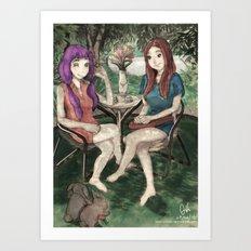 Deux Vantaux Art Print