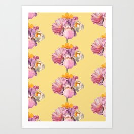 polly (pattern) Art Print