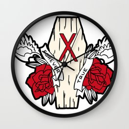 Strage Edge True Foreve Wall Clock