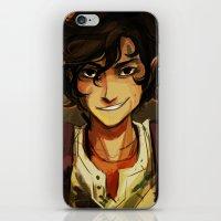 leo iPhone & iPod Skins featuring Leo by viria