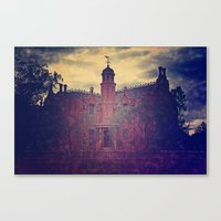 haunted mansion Canvas Prints featuring Haunted Mansion by BreatheinStandstill