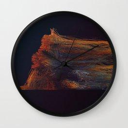 Day 0291 /// String portrait Wall Clock