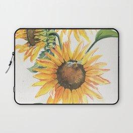 Sunny Sunflowers Laptop Sleeve