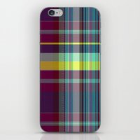 vegetable iPhone & iPod Skins featuring vegetable madras by design lunatic
