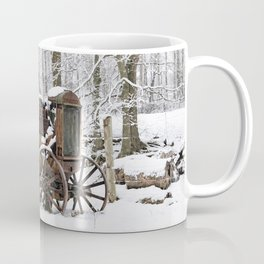 Steel and Snow Coffee Mug