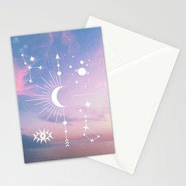 The Moon Boho Edition Stationery Cards