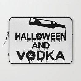 Halloween and Vodka Laptop Sleeve