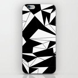 looking black iPhone Skin