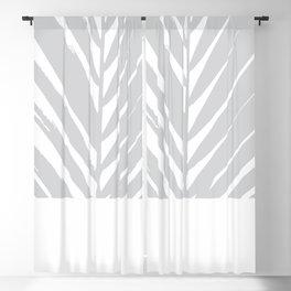 Tropical Grey Palm #society6 #decor #buyart Blackout Curtain