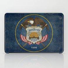 Utah State Flag - vintage version iPad Case