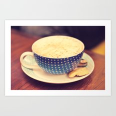 A Cup of Coffee Art Print