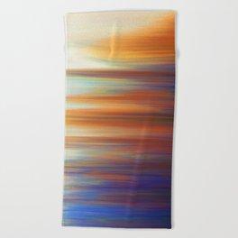 Pixel Sorting 44 Beach Towel
