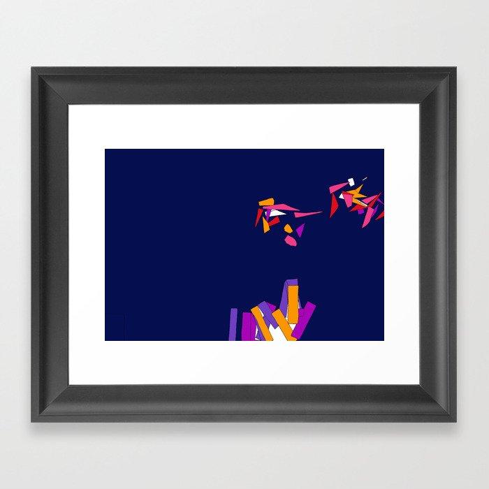 Fragmentation 3 Framed Art Print