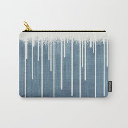 DROPS / Azure Blue, Cool Gray Carry-All Pouch