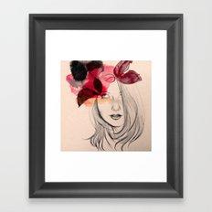 Chloé Framed Art Print