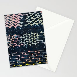 Message from afar Stationery Cards