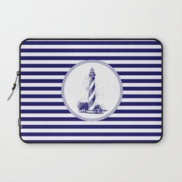 Marine - lighthouse Laptop Sleeve