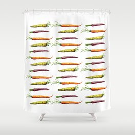 Carrots Galore! Shower Curtain