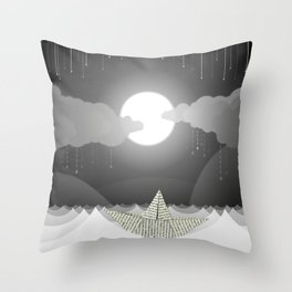 Dream Sea Throw Pillow