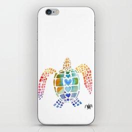 Hug a Sea Turtle iPhone Skin