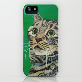 Cat that longs to be a Tiger! iPhone Case