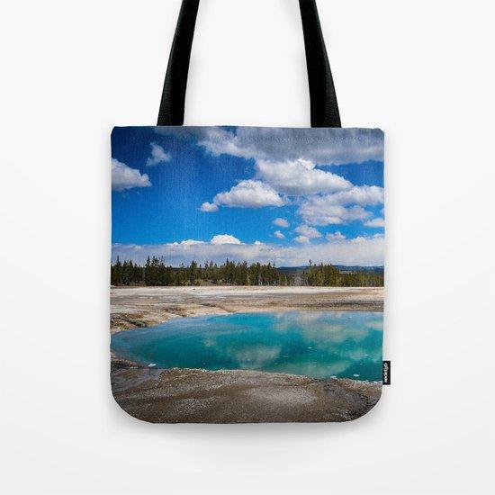 Emerald Pond Tote Bag